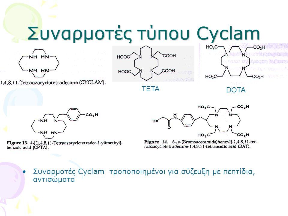 Συναρμοτές τύπου Cyclam