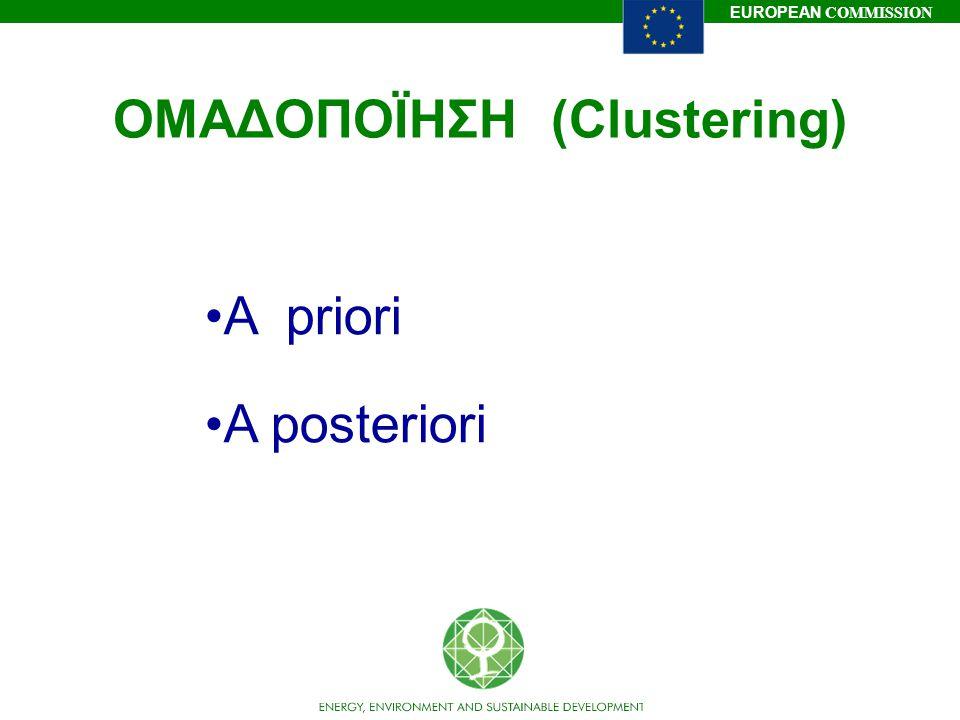 ΟΜΑΔΟΠΟΪΗΣΗ (Clustering)