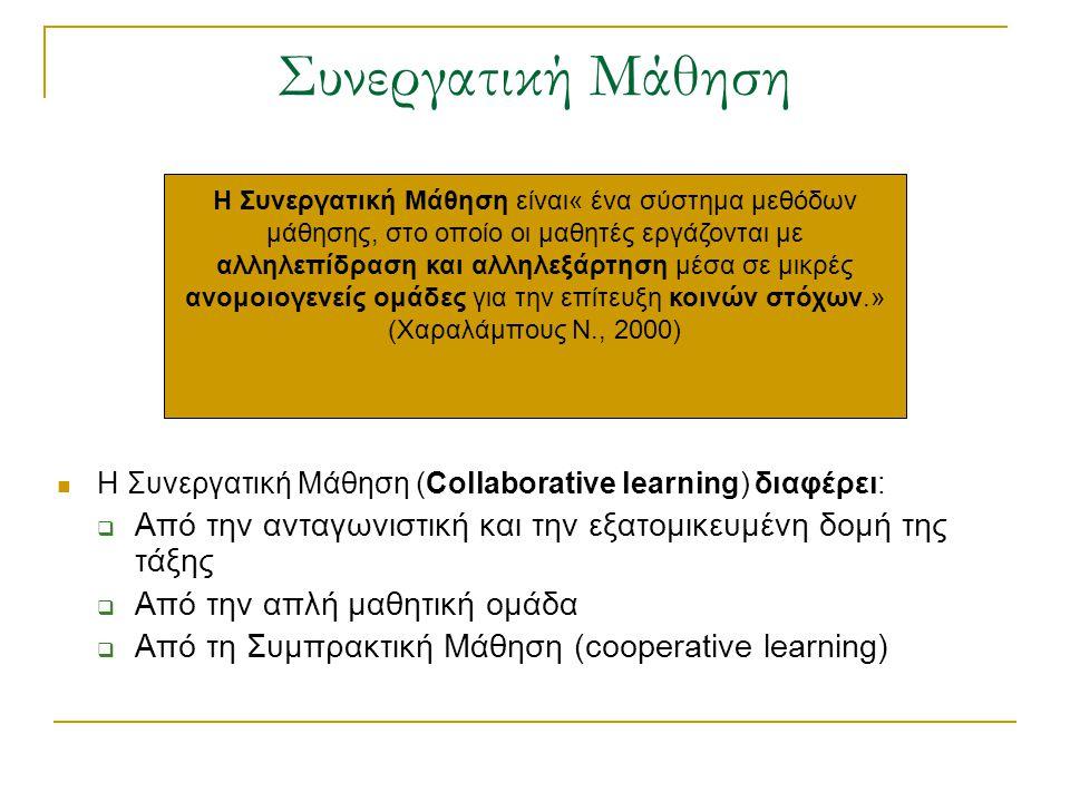 Συνεργατική Μάθηση