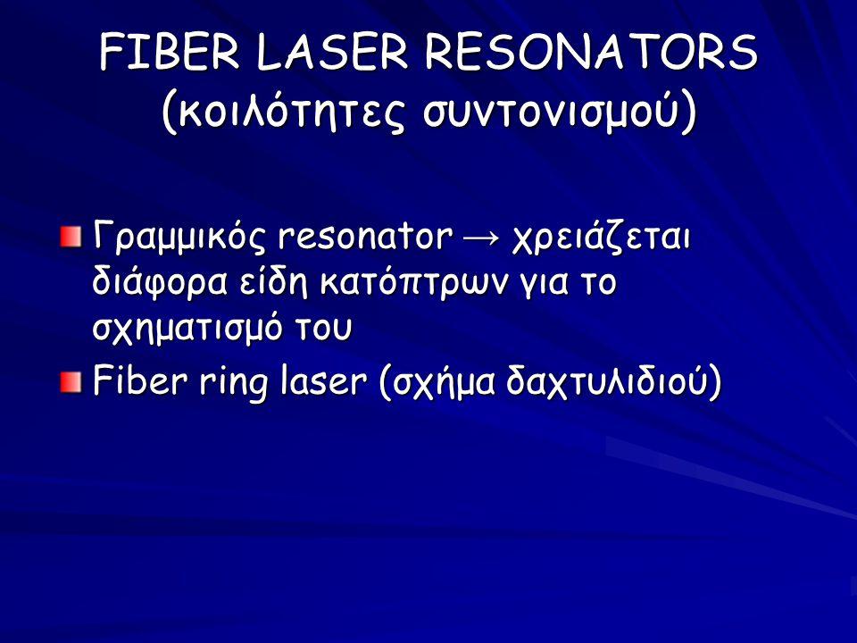 FIBER LASER RESONATORS (κοιλότητες συντονισμού)