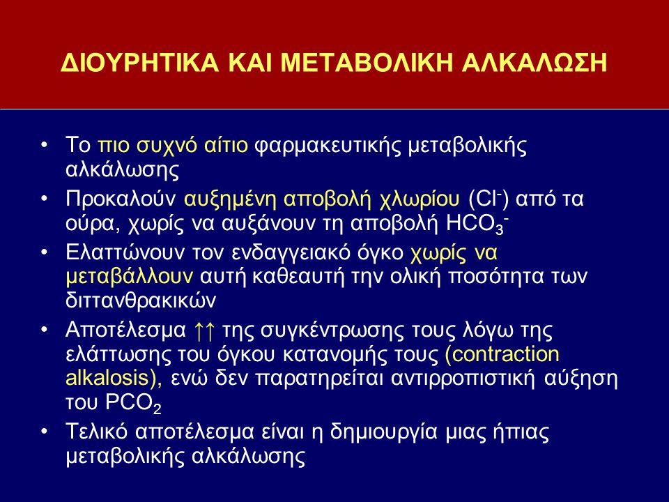 ΔΙΟΥΡΗΤΙΚΑ ΚΑΙ ΜΕΤΑΒΟΛΙΚΗ ΑΛΚΑΛΩΣΗ
