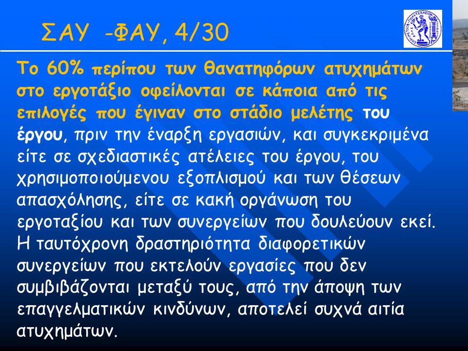ΣΑΥ -ΦΑΥ, 4/30
