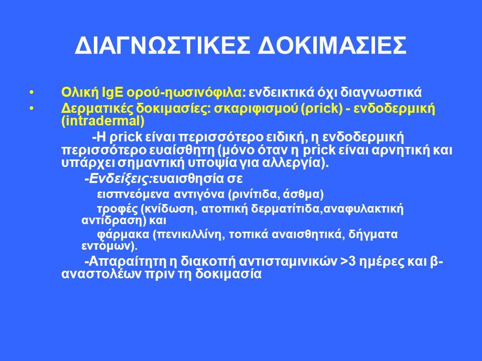 ΔΙΑΓΝΩΣΤΙΚΕΣ ΔΟΚΙΜΑΣΙΕΣ