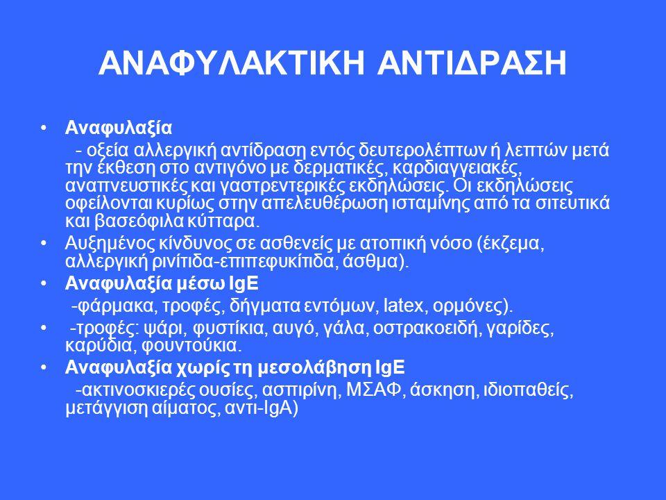 ΑΝΑΦΥΛΑΚΤΙΚΗ ΑΝΤΙΔΡΑΣΗ