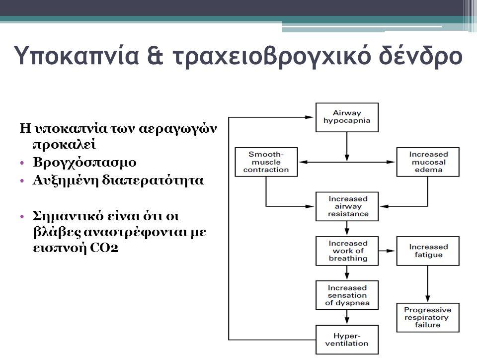 Υποκαπνία & τραχειοβρογχικό δένδρο