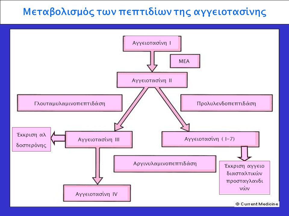 Μεταβολισμός των πεπτιδίων της αγγειοτασίνης