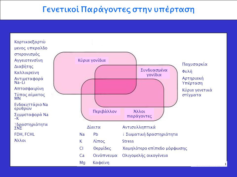 Γενετικοί Παράγοντες στην υπέρταση