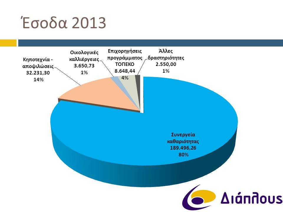 Έσοδα 2013