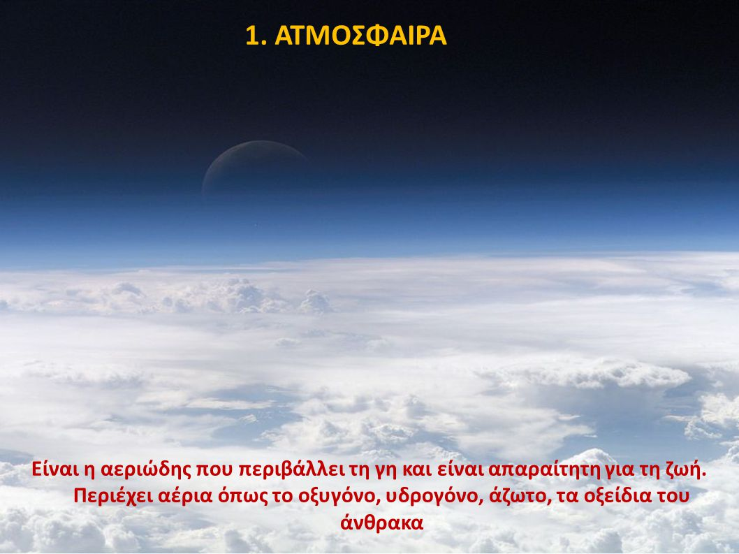 1. ΑΤΜΟΣΦΑΙΡΑ