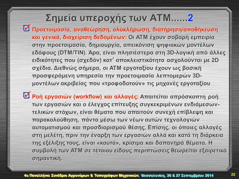 Σημεία υπεροχής των ΑΤΜ......2