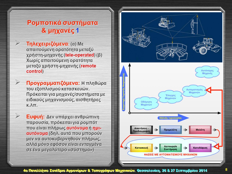 Ρομποτικά συστήματα & μηχανές 1