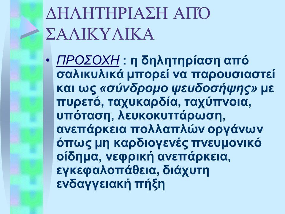 ΔΗΛΗΤΗΡΙΑΣΗ ΑΠΌ ΣΑΛΙΚΥΛΙΚΑ