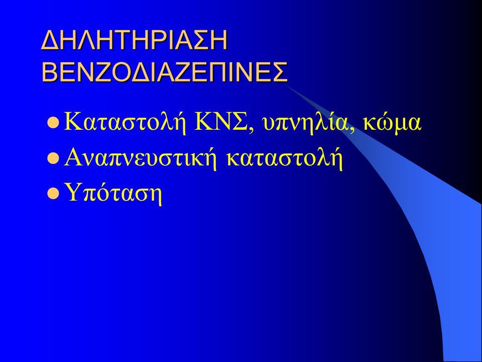 ΔΗΛΗΤΗΡΙΑΣΗ ΒΕΝΖΟΔΙΑΖΕΠΙΝΕΣ