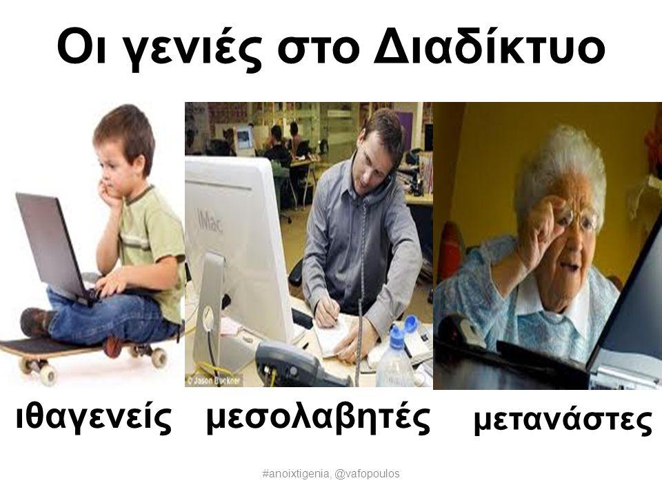 Οι γενιές στο Διαδίκτυο