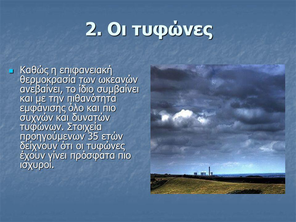 2. Οι τυφώνες