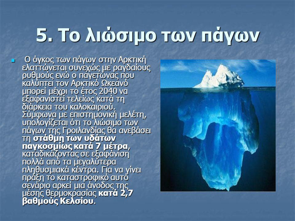 5. Το λιώσιμο των πάγων