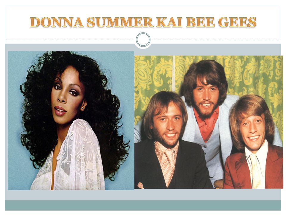 DONNA SUMMER ΚΑΙ BEE GEES