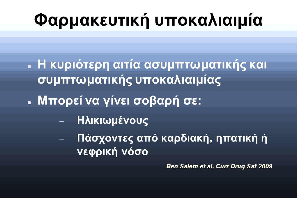 Φαρμακευτική υποκαλιαιμία