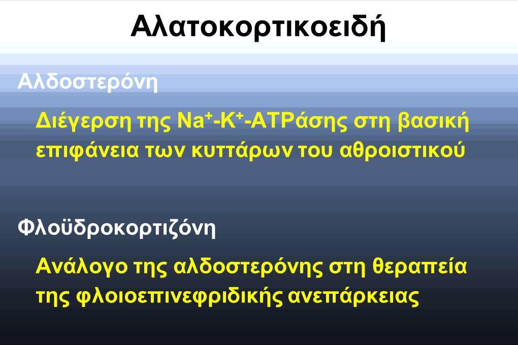 Αλατοκορτικοειδή Αλδοστερόνη