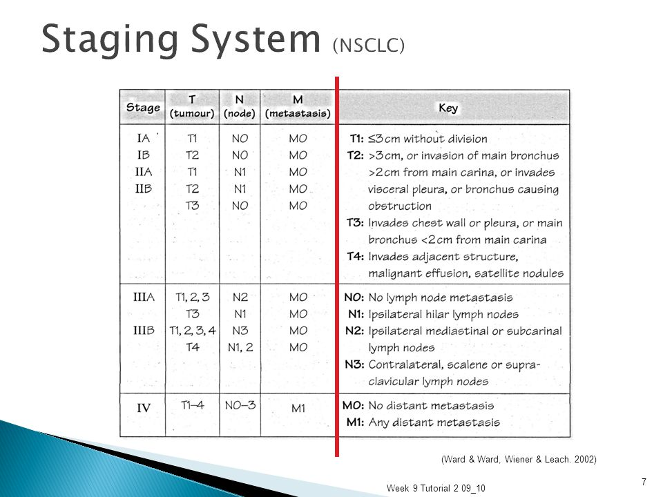 Staging System (NSCLC)