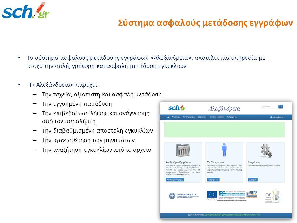 Σύστημα ασφαλούς μετάδοσης εγγράφων