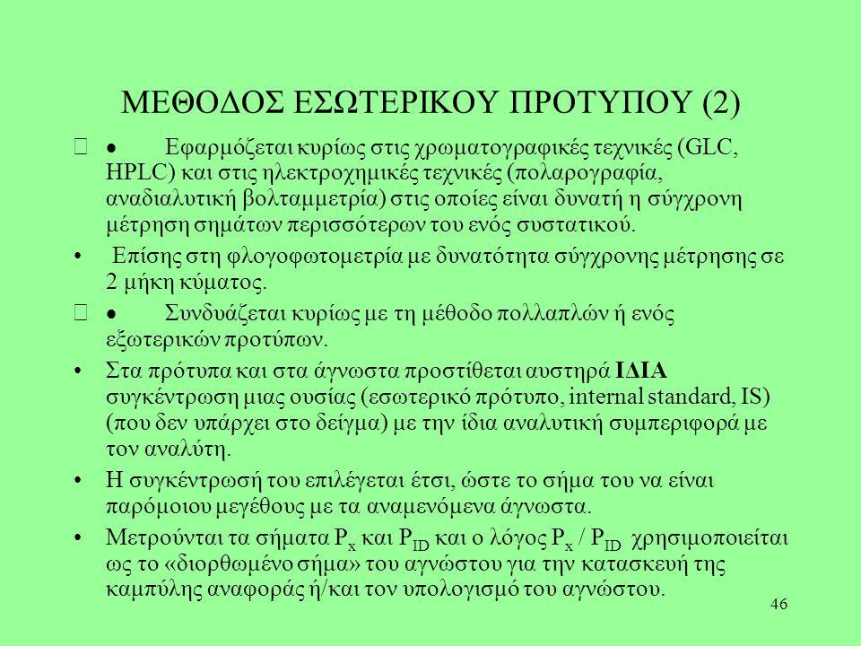 ΜΕΘΟΔΟΣ ΕΣΩΤΕΡΙΚΟΥ ΠΡΟΤΥΠΟΥ (2)