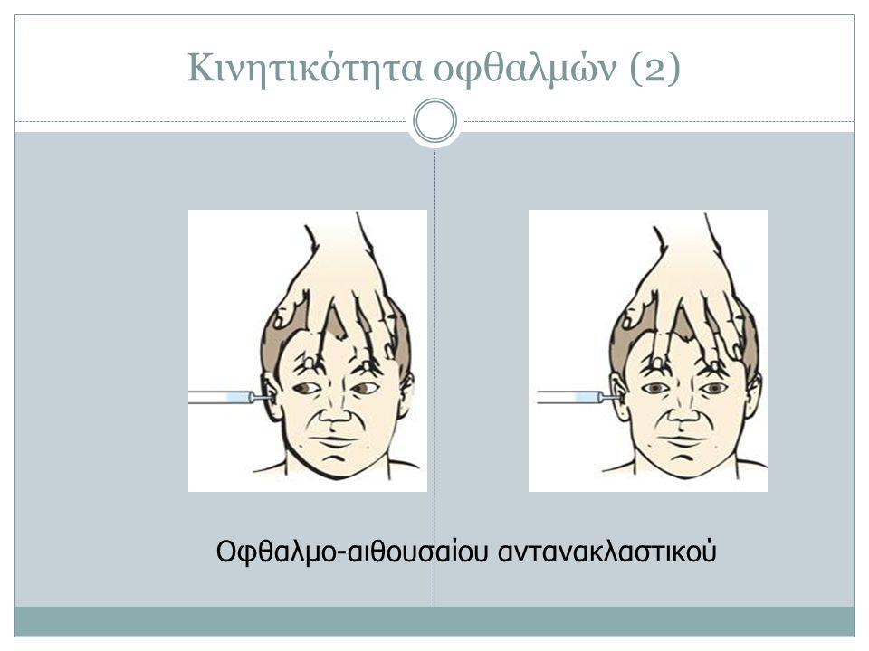Κινητικότητα οφθαλμών (2)
