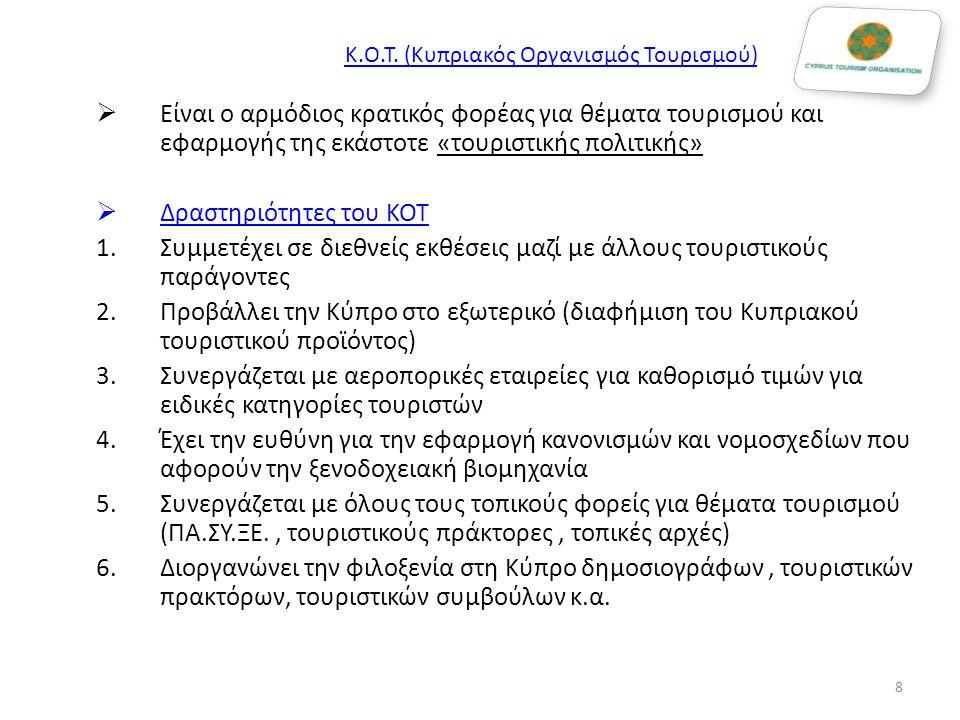 Κ.Ο.Τ. (Κυπριακός Οργανισμός Τουρισμού)