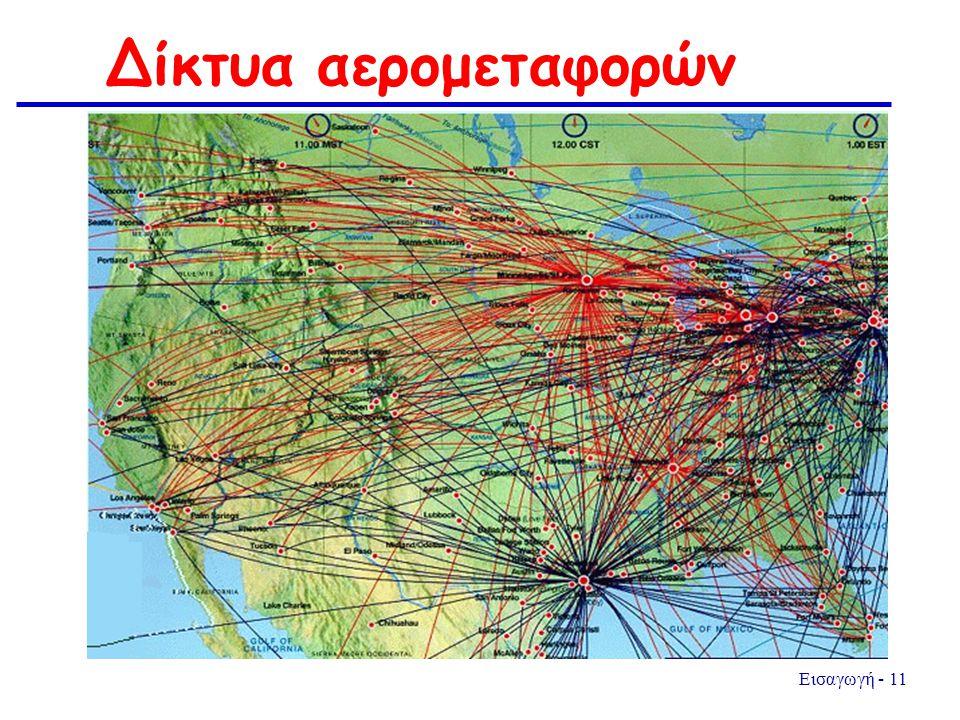 Δίκτυα αερομεταφορών