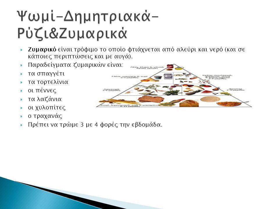Ψωμί-Δημητριακά-Ρύζι&Ζυμαρικά