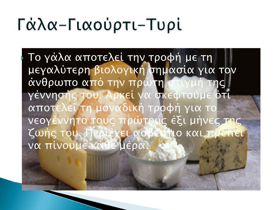 Γάλα-Γιαούρτι-Τυρί