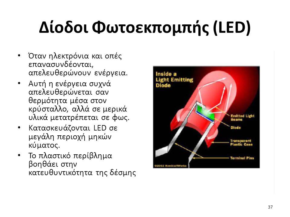 Δίοδοι Φωτοεκπομπής (LED)