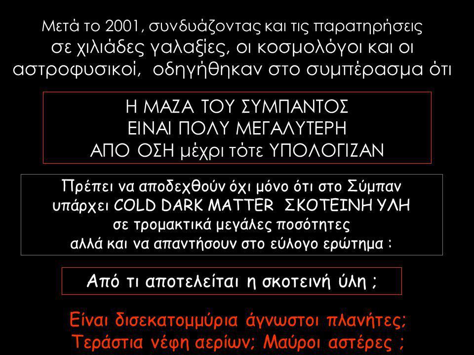 ΑΠΟ ΟΣΗ μέχρι τότε ΥΠΟΛΟΓΙΖΑΝ
