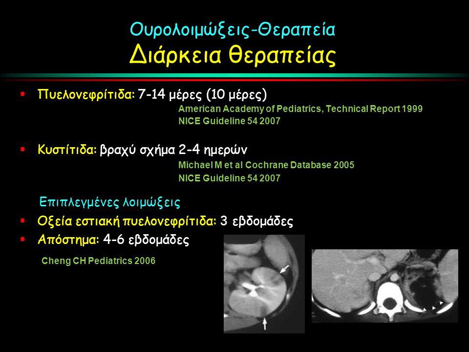 Ουρολοιμώξεις-Θεραπεία Διάρκεια θεραπείας