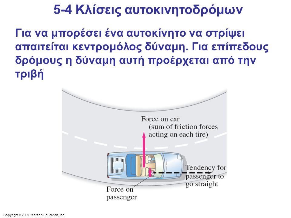 5-4 Κλίσεις αυτοκινητοδρόμων