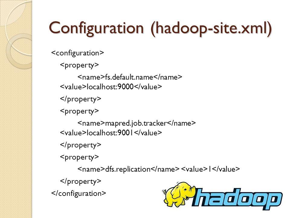Configuration (hadoop-site.xml)