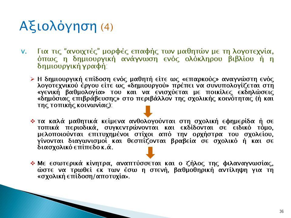 Αξιολόγηση (4)