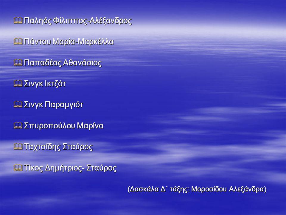 Παληός Φίλιππος-Αλέξανδρος