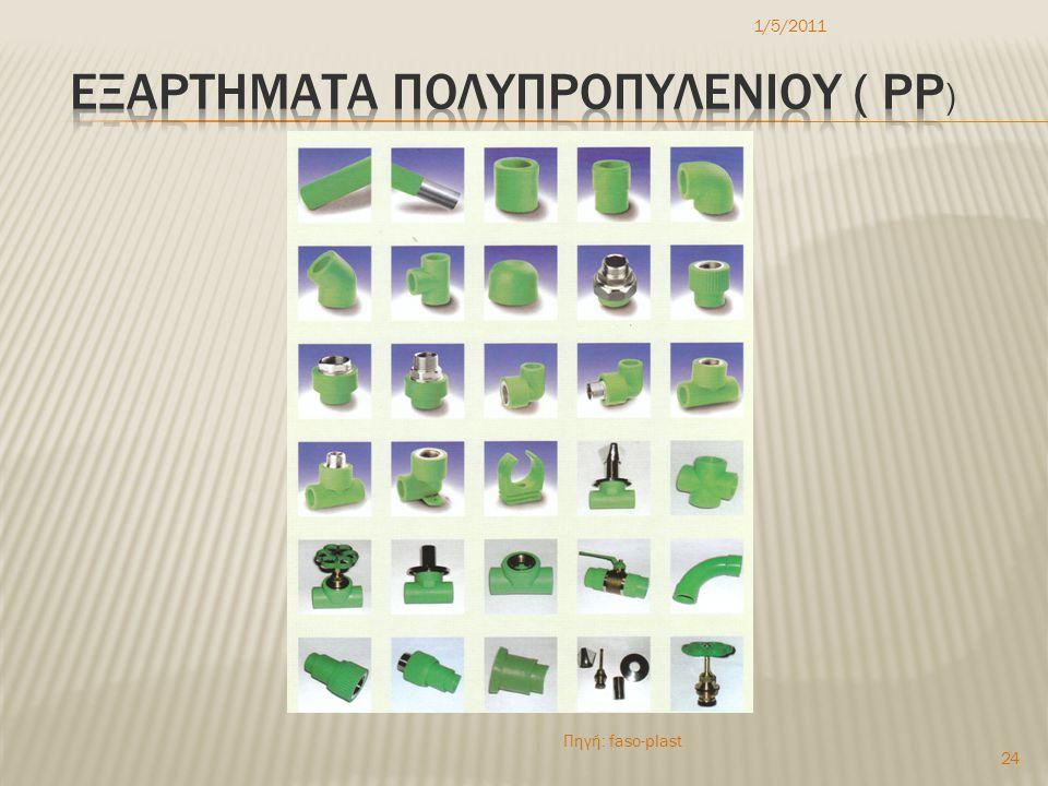 εξαρτηματα ΠΟΛΥπροπυλενιοy ( Pp)