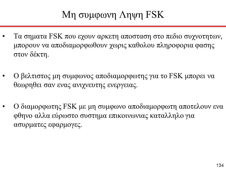 Μη συμφωνη Ληψη FSK