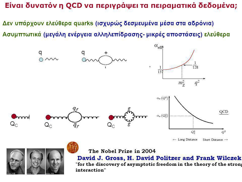 Είναι δυνατόν η QCD να περιγράψει τα πειραματικά δεδομένα;