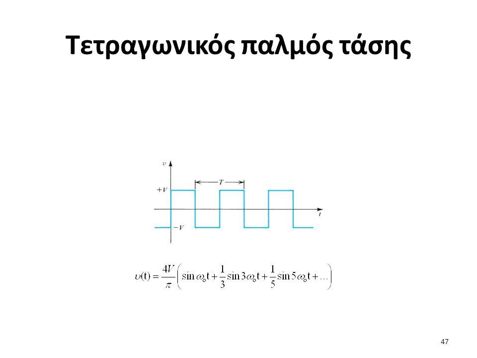 Τετραγωνικός παλμός τάσης