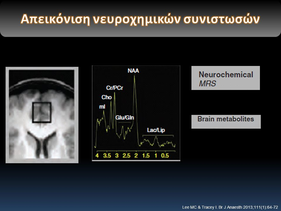 Απεικόνιση νευροχημικών συνιστωσών