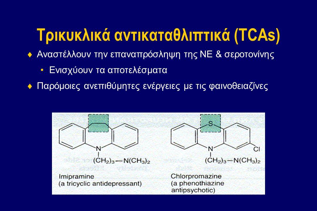 Τρικυκλικά αντικαταθλιπτικά (TCAs)