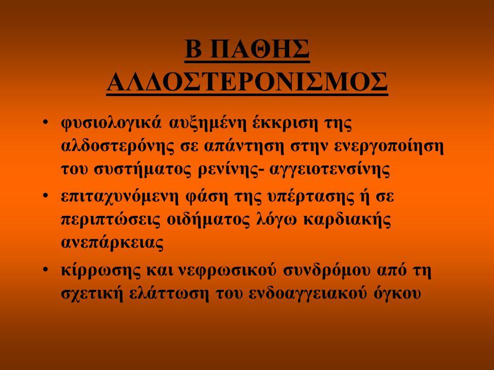 Β ΠΑΘΗΣ ΑΛΔΟΣΤΕΡΟΝΙΣΜΟΣ