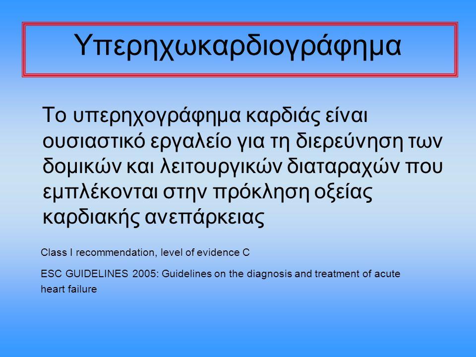 Υπερηχωκαρδιογράφημα