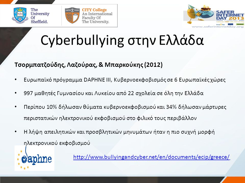 Cyberbullying στην Ελλάδα