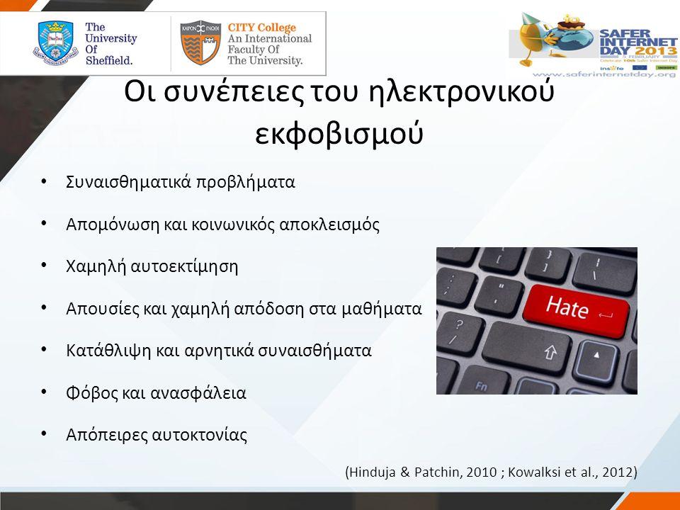 Οι συνέπειες του ηλεκτρονικού