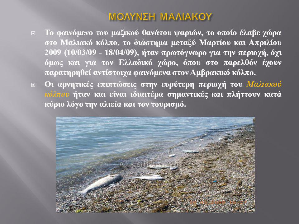 ΜΟΛΥΝΣΗ ΜΑΛΙΑΚΟΥ