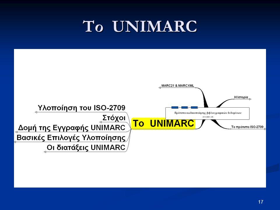 Το UNIMARC
